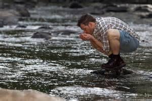 Вода из открытого водоема