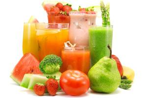 Можно пить овощные и фруктовые соки