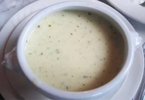 При диете допускаются молочные супы