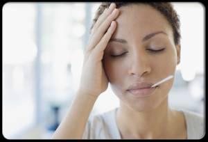 Симптомы - нарушение температурного режима