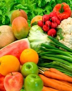 Необходимо включить в рацион питания  фрукты