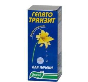 Препарат Гепатотранзит