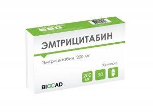 Препарат Эмтрицитабин
