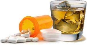 Совместное применение препарата со спиртными напитками запрещены