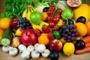 Фрукты и овощи при удаленном желчном пузыре