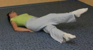 Упражнение «ножницы»
