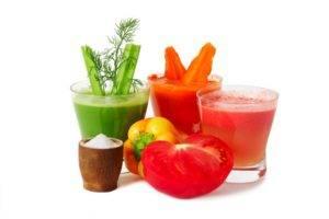 Фреши из овощей