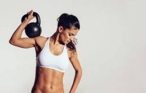 Физические упражнения с поднятием тяжести